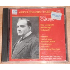 Enrico Caruso - Complete Recordings, Vol. 8 (1913-1914)