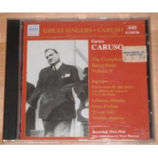 Enrico Caruso - Complete Recordings Vol 9