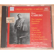Enrico Caruso Complete Recordings, Vol. 6