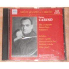 Enrico Caruso : Complete Recordings, Vol. 5