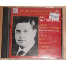 John McCormack Edition - 4 1913-1914