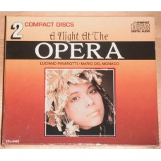 Night at the Opera (2xCD) Pavarotti Mario Del Monaco