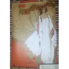 Vintage Fairy Queen Splash Poster 51cm x 77cm