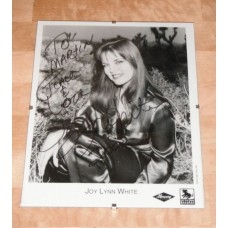 Joy Lynn White Signed Picture