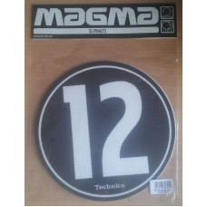 Technics Slipmat 12-10 Black/White (pair)