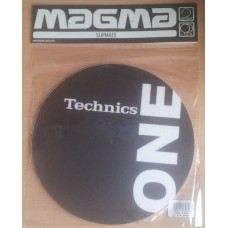Technics Slipmat One-Two Black / White (Pair)