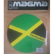 Technics Slipmats (Pair) Technics Slipmat Jamaika