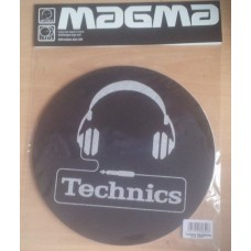 Technics Slipmats (Pair) Technics Slipmat Headphone